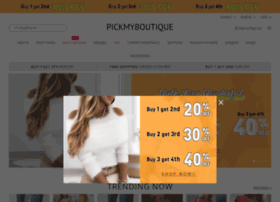 Pickmyboutique.co.uk thumbnail