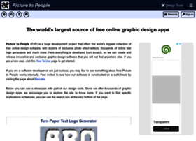 Picturetopeople.org thumbnail
