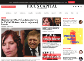 Picuscapital.sk thumbnail