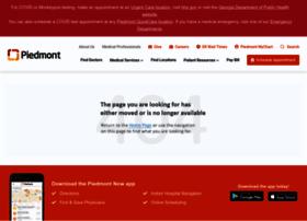 Piedmonthospital.org thumbnail