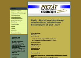 Pietaet-bestattung.de thumbnail