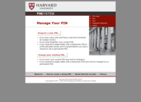 Pin1.harvard.edu thumbnail