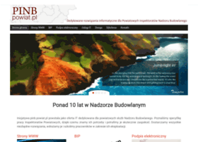 Pinb.powiat.pl thumbnail