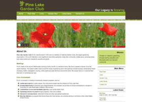 Pinelakegardenclub.org thumbnail
