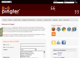 Pingler.net thumbnail