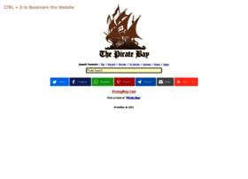 Piratebayproxy.buzz thumbnail