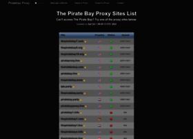 Piratebayproxy.info thumbnail