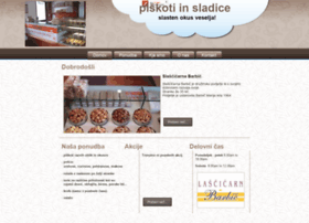 Piskoti-barbic.si thumbnail
