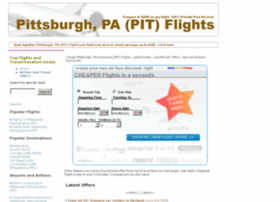 Pittsburghflights.info thumbnail