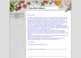 Pizzablitz-fellbach.de thumbnail