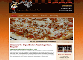 Pizzabrothers.net thumbnail