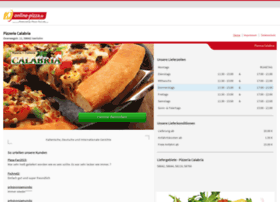 Pizzacalabria.de thumbnail
