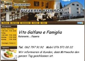 Pizzeriaforyou.ch thumbnail