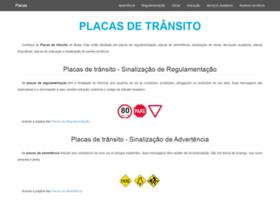 Placasdetransito.net.br thumbnail