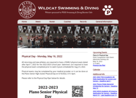 Planowildcatswimming.org thumbnail