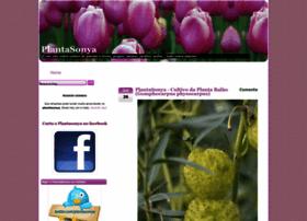 plantasonya.com.br at WI. PlantaSonya - O seu blog sobre