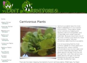 Plantcarnivores.co.uk thumbnail