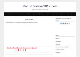 Plantosurvive2012.com thumbnail