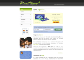 plantvigra.net at WI. Plant Vigra: Natural Male ...