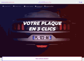 Plaqueimmat.fr thumbnail