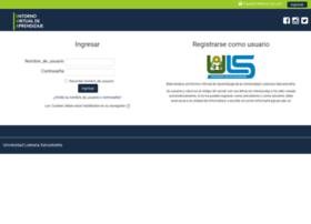 Plataformas.uls.edu.sv thumbnail