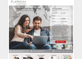 Platinumcashloan.com thumbnail