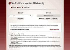 Plato.stanford.edu thumbnail