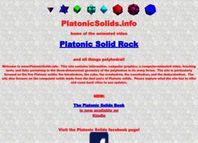 Platonicsolids.info thumbnail