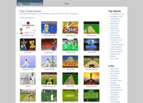 Playcricketgames.org thumbnail