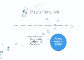 Playfulpartyhire.co.nz thumbnail