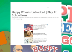 Black And Gold Games: Happy Wheels Unblocked At School