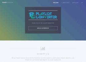 Playlistconverter.de thumbnail