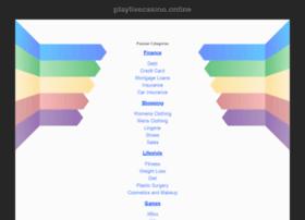 Playlivecasino.online thumbnail