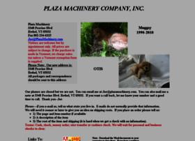 Plazamachinery.com thumbnail