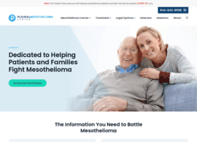 Pleuralmesothelioma.com thumbnail