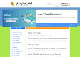 Plsql-tutorial.com thumbnail