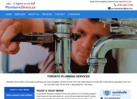 Plumbersdirect.ca thumbnail