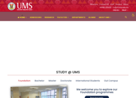 Plums.ums.edu.my thumbnail