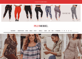PLUS Model Magazine - The Pulse of Plus Size Fashion, Beauty, Arts and