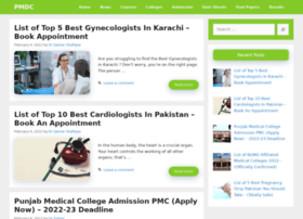 Pmdc.org.pk thumbnail