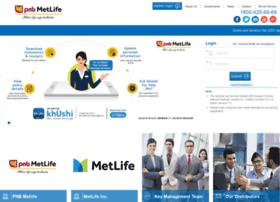 Pnbmetsmart.metlifeportal.co.in thumbnail