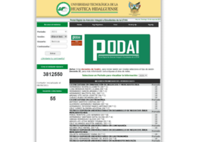 Podai.uthh.edu.mx thumbnail