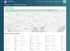 Pogoda33.ru thumbnail