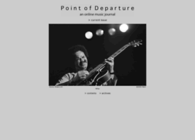 Pointofdeparture.org thumbnail