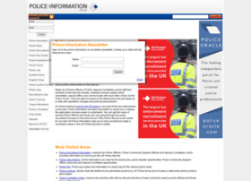 Police-information.co.uk thumbnail