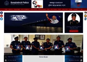 Police.gov.bd thumbnail