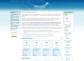 Policeapplication.co.uk thumbnail