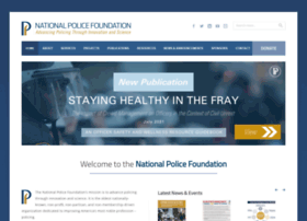 Policefoundation.org thumbnail