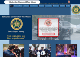 Policereserve.org thumbnail