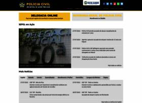 Policiacivilrj.net.br thumbnail